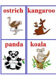 English Worksheets: Animals 7.