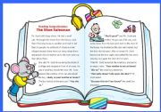 English Worksheets: Reading comprehension 1: