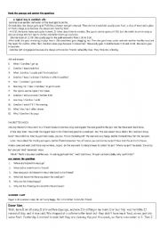 English Worksheets: Readings