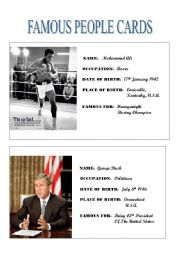 Famous People Cards (1)