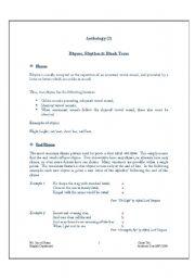 English Worksheets: Rhyme, Rhythm & Blank Verse