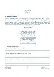 English Worksheets: Symbols