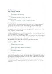 English Worksheets: Babies Brain