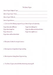 English Worksheets: End of Year Evaluation