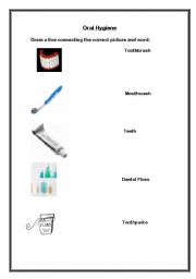 Worksheet Dental Hygiene Worksheets english teaching worksheets hygiene oral hygiene