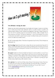 How can I quit smoking ?