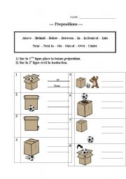 Prepositions - ESL worksheet by profcitron