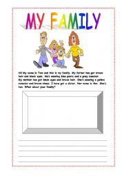 english teaching worksheets family english worksheets my family