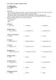 English Worksheets: Interpretação de texto