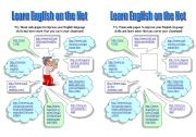 English Worksheet: WEB PAGES FOR LEARNING ENGLISH