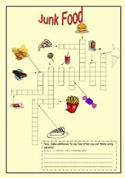 Junk Food crossword