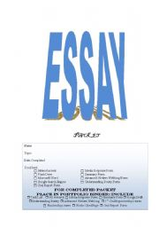 worksheets writing essays