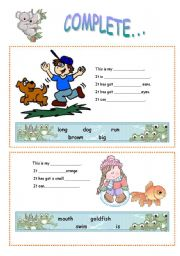 English Worksheets: compete