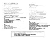 English Worksheet: Song - Cat Stevens - Father and Son (gap filling exercise)