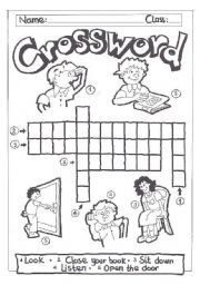 Crossword- commands