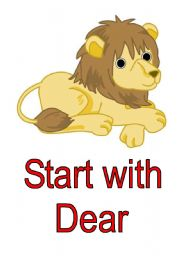 English Worksheets: Leon the letter lion 3