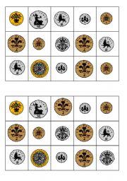 picture regarding Money Bingo Printable identified as Economical BINGO - ESL worksheet by way of gracie3210