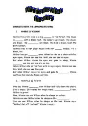 Winnie the witch story