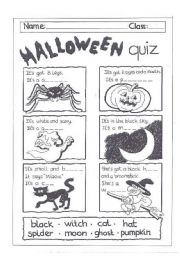 halloween quiz - Halloween Quiz For Kids
