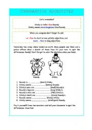 English Worksheet: Funny Aliens