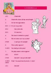 Cinderella (3 pages)