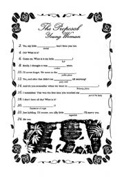 English Worksheets: proposal