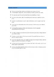 English Worksheets: Promise Yoyrself