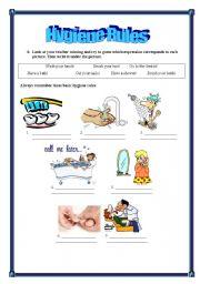 Hygiene rules