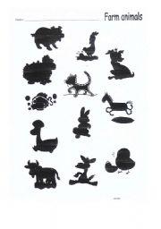 English Worksheets: Animal farms