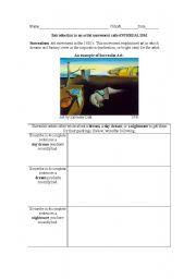 English Worksheets: Surrealism