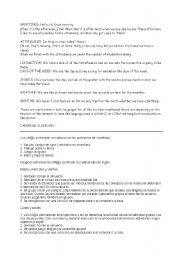 English Worksheets: Routines Guide ESL