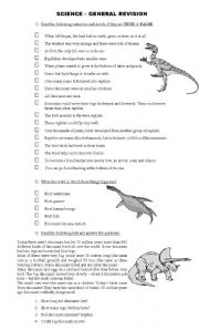 English Worksheets: Animal life - General knowledge