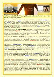 English Worksheet: Slumdog Millionaire