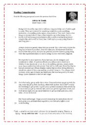 mark twains advice to youth vocabulary essay View essay - week 7 lit essay from literature 221 at american public university fisher 1 amanda fisher professor christian faught literature 221 21 february 2016 mark twains advice to youth mark.