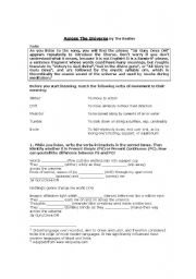 The Universe worksheets