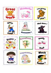 English Worksheets: Motivating awards for students!!!