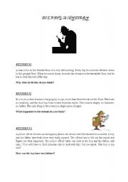English Worksheet: modals of possibility and certainty both in the past and at the present