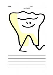 English Worksheets: Tooth Connections