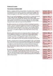 model essay structure  esl worksheet by jonmdwest model essay structure