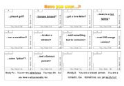 English Worksheets: Have you ever ...? B