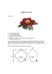 English Worksheets: motger�s day gift
