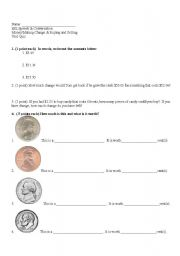english worksheets esl money and buying and sellingquiz. Black Bedroom Furniture Sets. Home Design Ideas