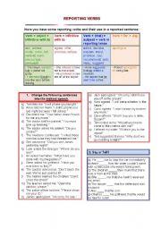 Passive voice reporting verbs grammar