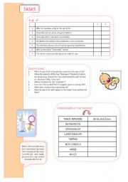 English Worksheets: Dad at 13 - workpoints