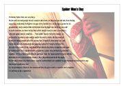 Spider Man´s day