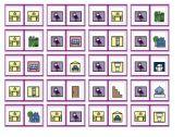 English worksheet: house dominoes