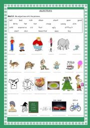 math worksheet : english teaching worksheets adjectives : Adjectives For Kindergarten Worksheets
