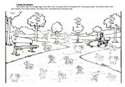 English Worksheets: Pets, Colours and Numbers Ws