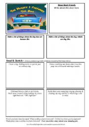 english worksheet the night i followed the dog. Black Bedroom Furniture Sets. Home Design Ideas