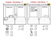 English Worksheets: What is missing? (rooms_and_households)